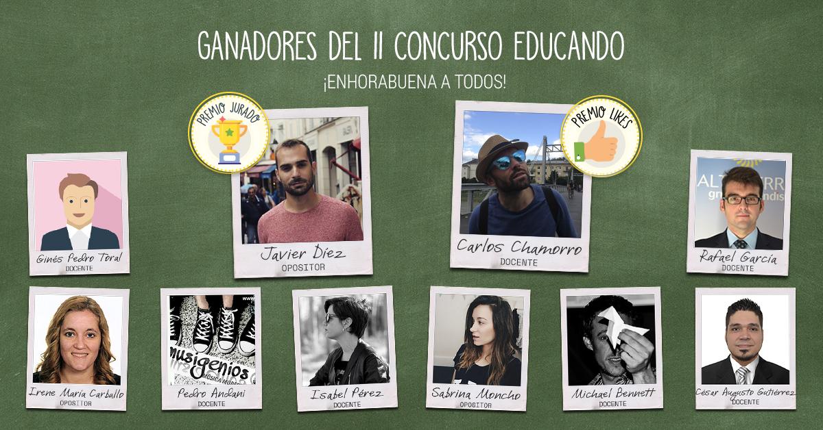 Ganadores del Concurso Educando 2018